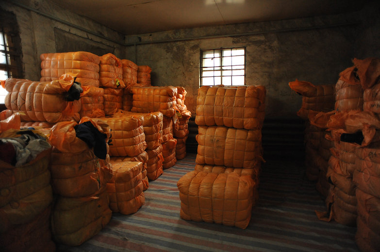 Pallets of Clothing