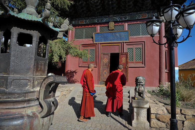Monks & Monastery