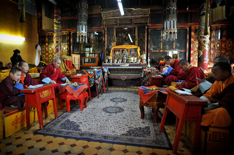 Monastery Chanting