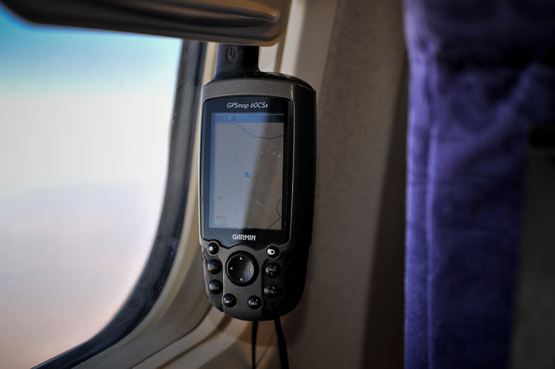 GPS on the Plane