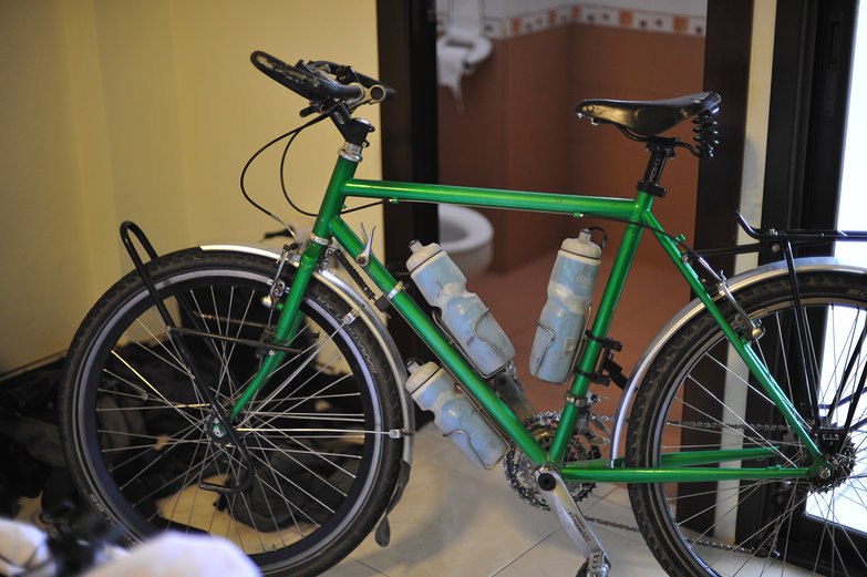 Tara's Green Bike, Newly Re-Built