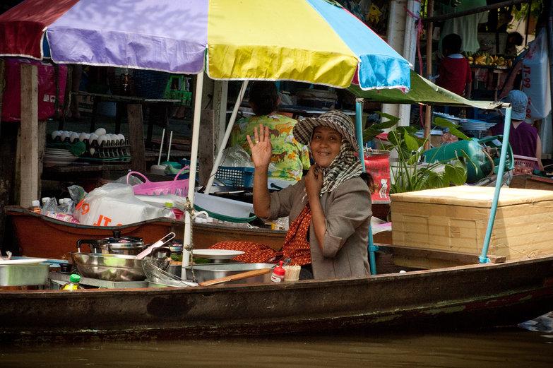 Klong Boatwoman
