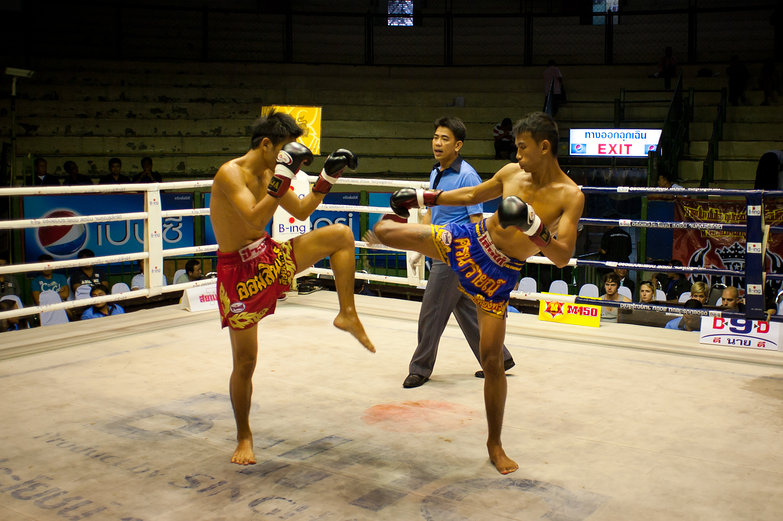 Muay Thai Kickboxing in Bangkok