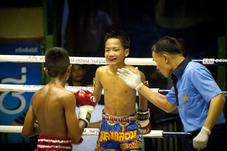 Young Kids Muay Thai Boxing