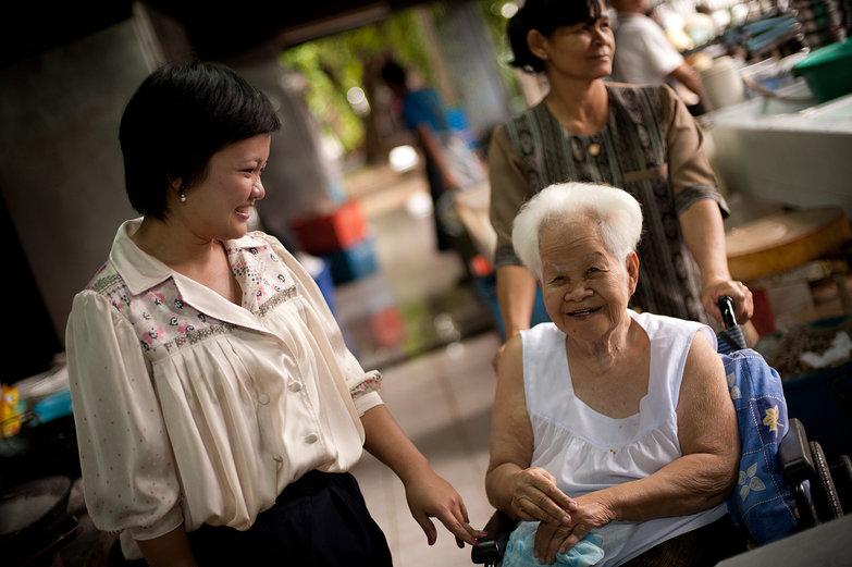 Sansanee & Grandma