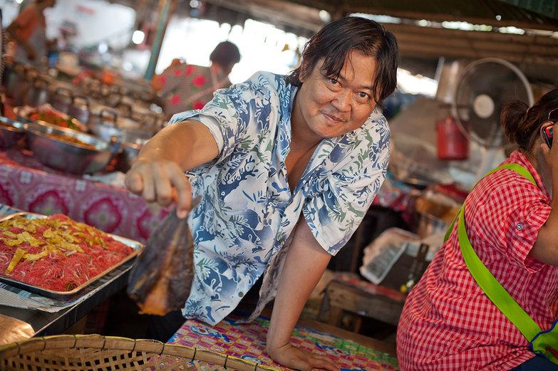 Thai Market Seller