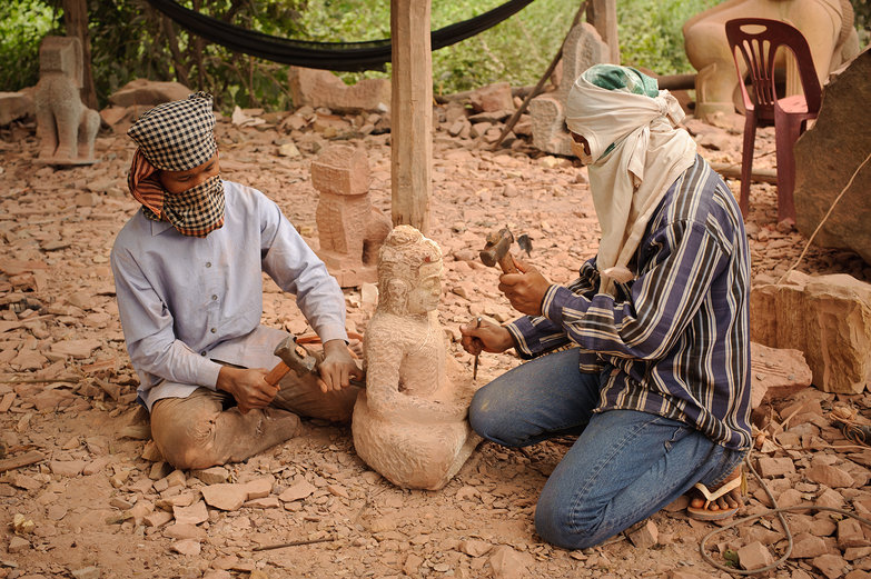 Khmer Sculpture Carvers