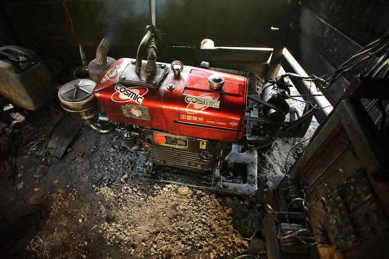 Home Built Diesel Generator