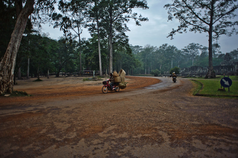 Road Around the Bayon