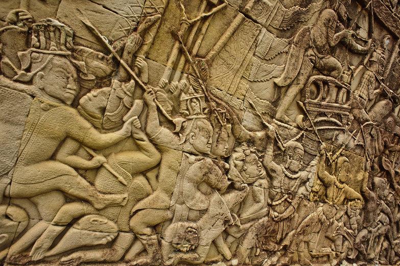 The Bayon Bas-Reliefs