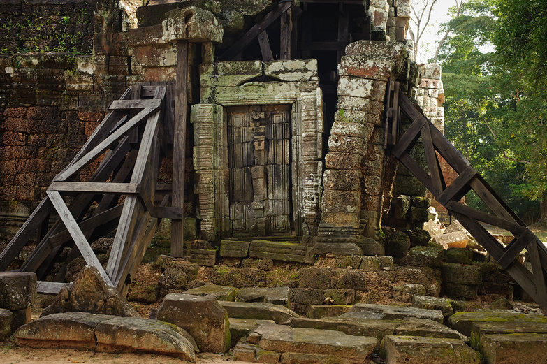Ta Som Temple Ruins