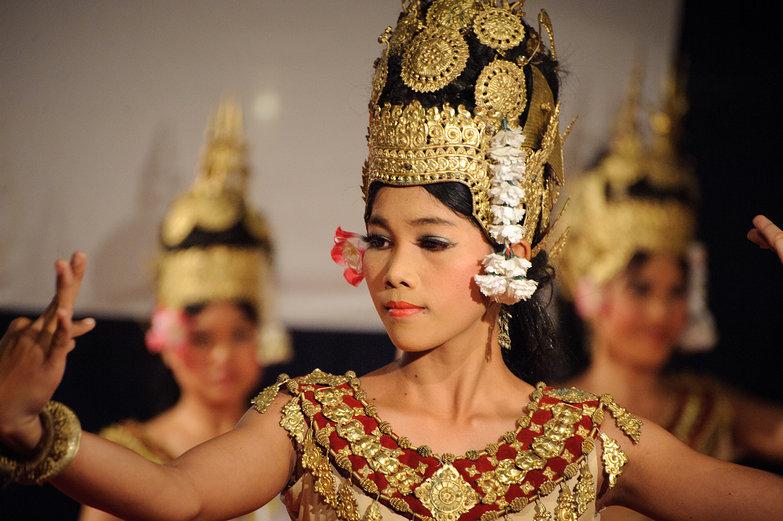 Krousar Thmey Apsara Dancer