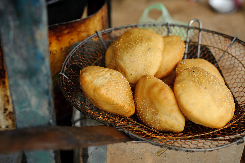 Sesame Seed Fried Buns
