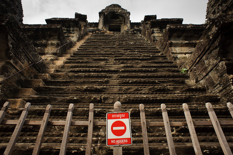 Angkor Wat: No Entry