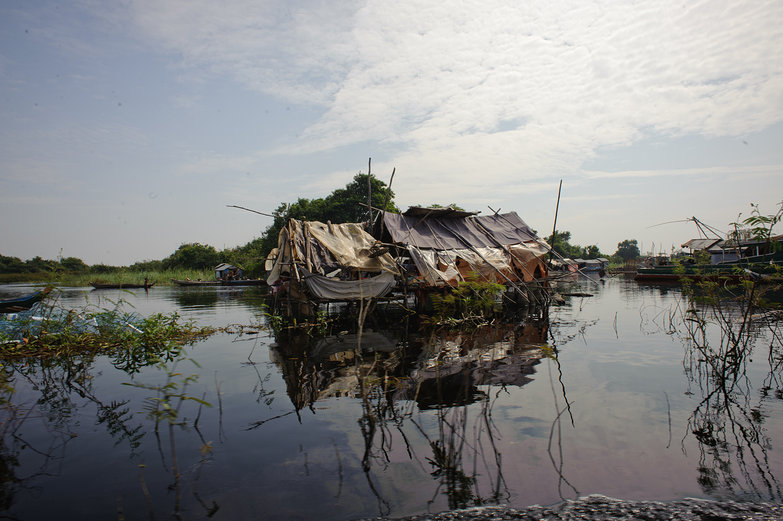 Floating Home, Tonle Sap Lake