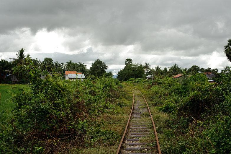 Cambodian Train Track
