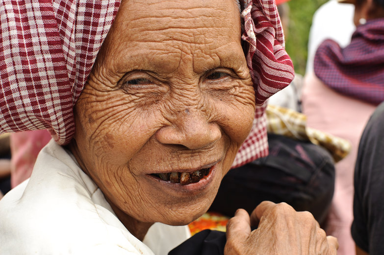 Old Cambodian Woman (This is Why You Shouldn't Chew Betel)