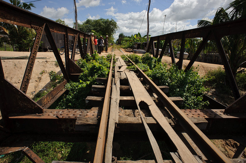 Cambodian Railway Bridge