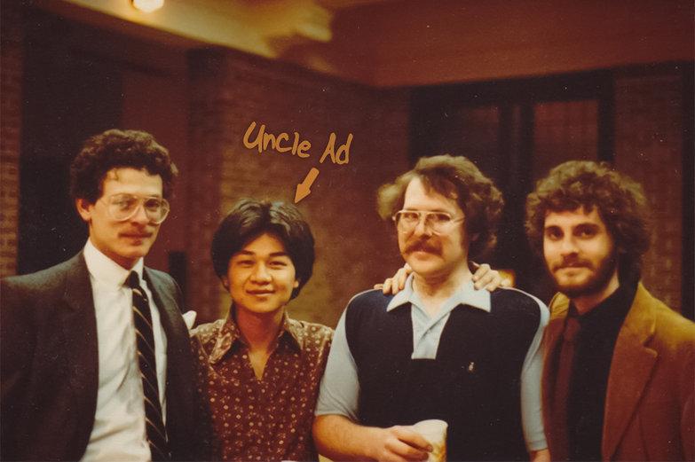 Uncle Brian, Uncle Ad, Uncle Steve & Dad