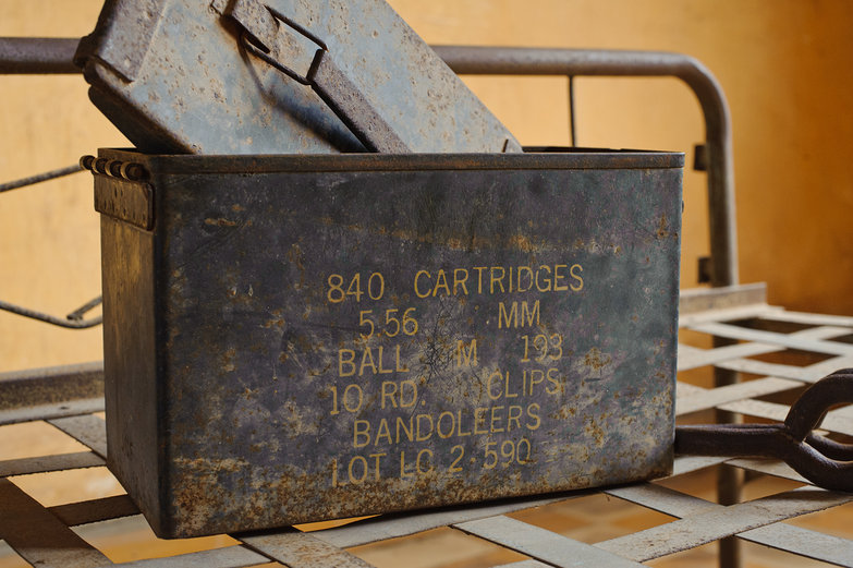Tuol Sleng Genocide Museum Ammo Box