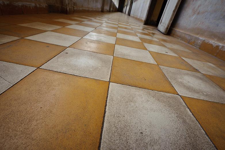 Tuol Sleng Genocide Museum Floor
