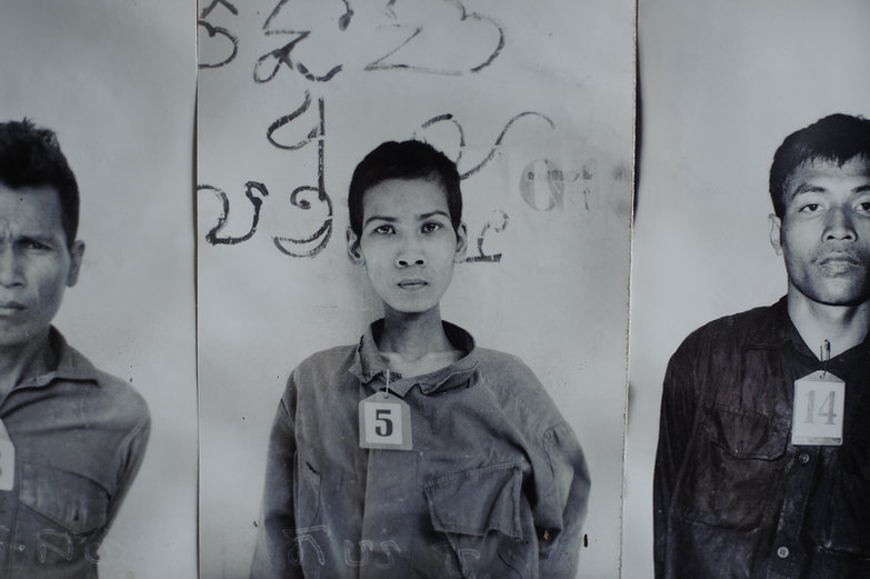 Tuol Sleng Genocide Museum Photos