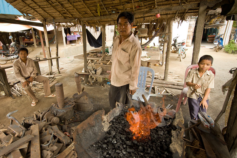 Cambodian Steelsmithy