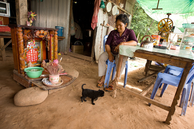 Cambodian Roadside Stand