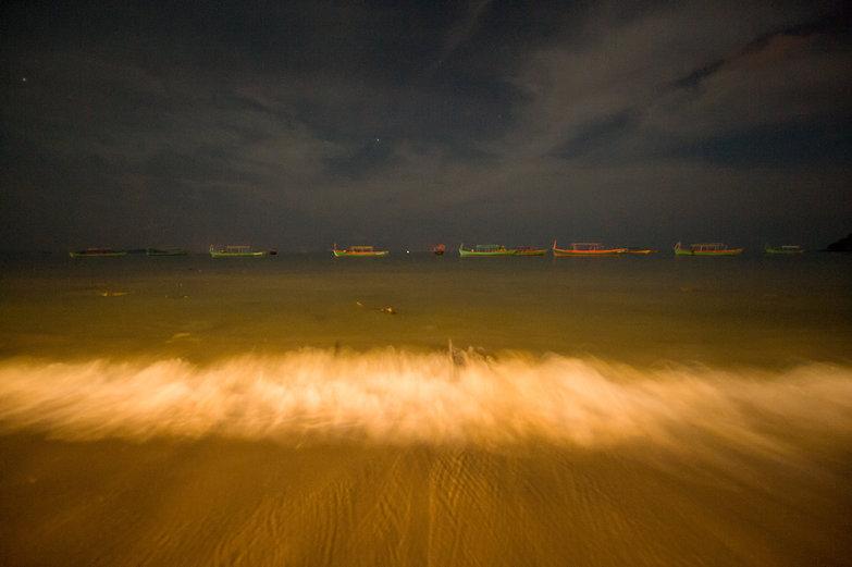Nighttime Waves