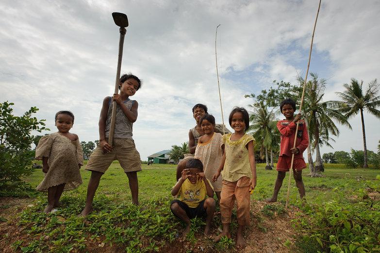 Wild Cambodian Kids