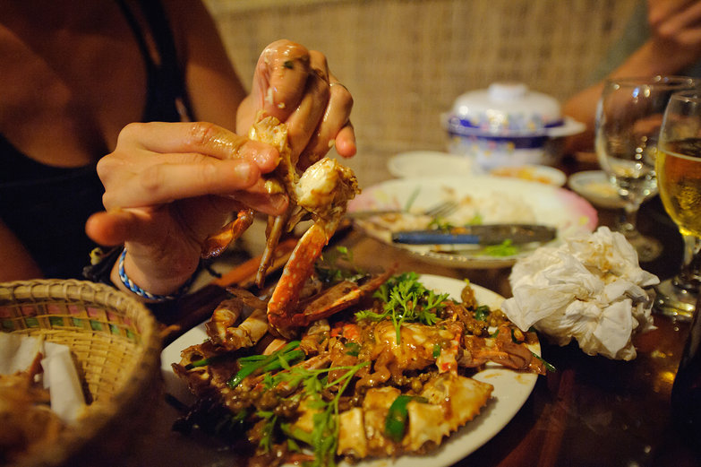 Messy Crab Supper