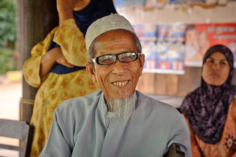 Friendly Cambodian Man