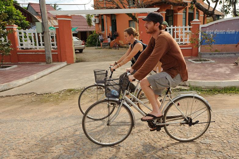 Pete & Natasha Cycling