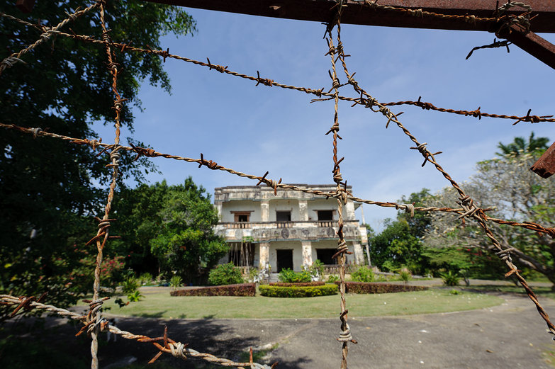 Seaside Villa Destroyed by Khmer Rouge