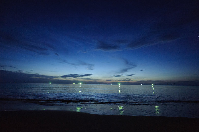 Phú Quốc Beach by Night