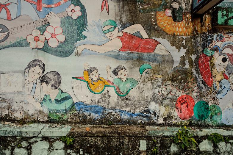 Vietnamese Mural