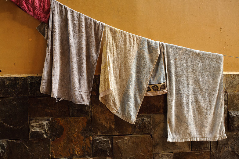 Towels Drying