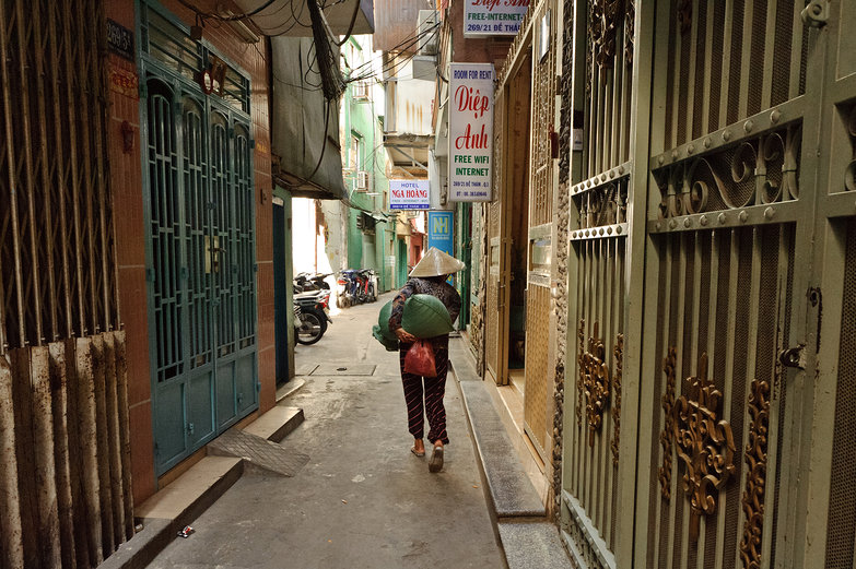 Ho Chi Minh City Alleyway