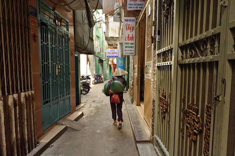 Ho Chi Minh City Alleyway