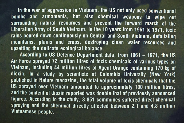 Toxic Chemicals Used on Vietnam