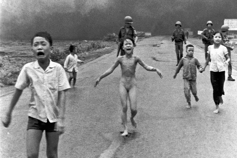 Phan Thị Kim Phúc Running After Napalm Attack