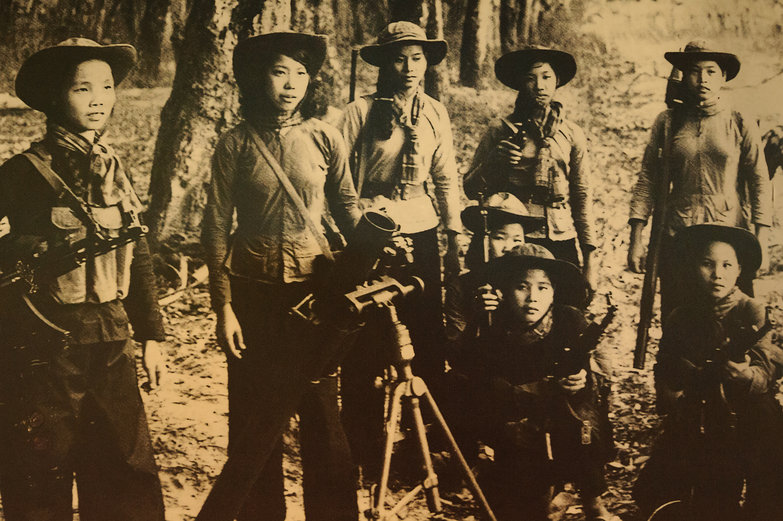 Women of the Cu Chi Guerrilla Fighters