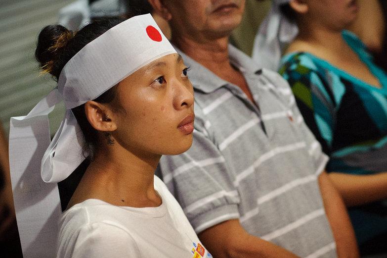 Vietnamese Funeral Attendee