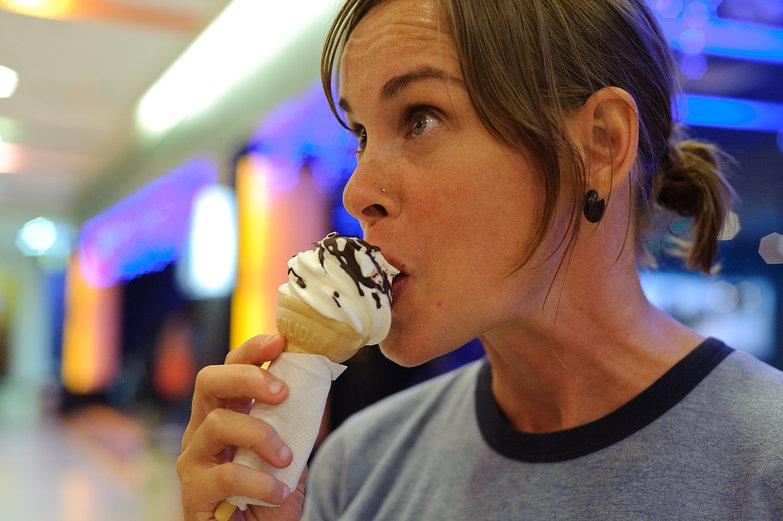 Natasha w/ Ice Cream