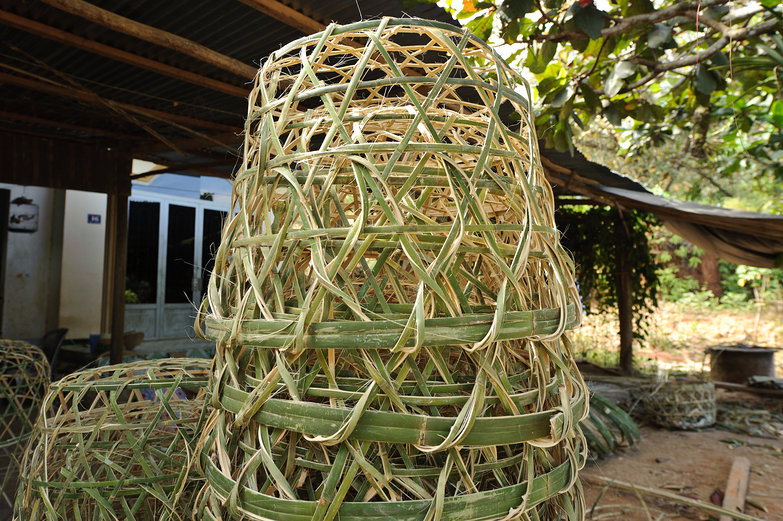 Bamboo Baskets / Cages for Chickens