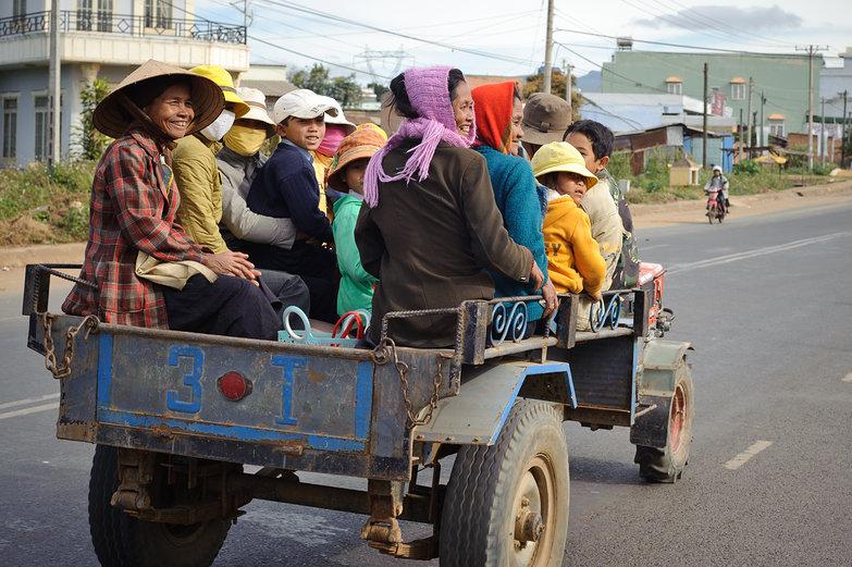 Vietnamese Passengers Passing