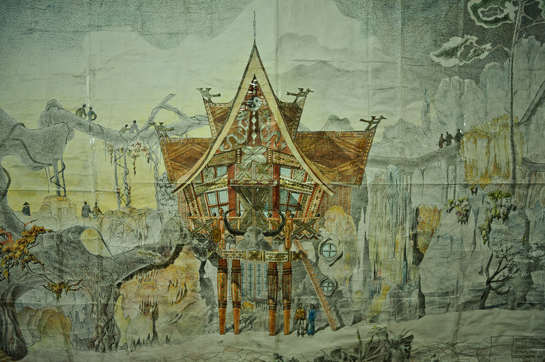 Crazy House Schematics, Da Lat, Vietnam