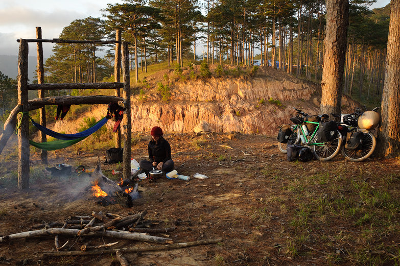 Bicycle Touring In Southeast Asia Free Camping Again