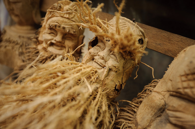 Awesome Bamboo Root Carving Figurines