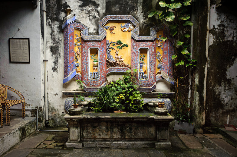 The Museum of Trading Ceramics in Hội An Courtyard